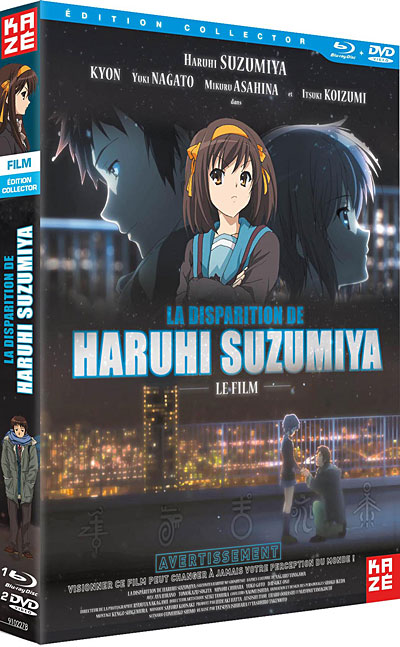 """The Disappearance of Haruhi Suzumiya"" © 2009 Nagaru Tanigawa · Noizi Ito / a member of SOS"